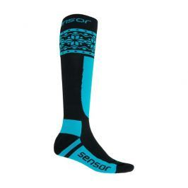 Ponožky Sensor Thermosnow Norway Velikost ponožek: 35-38 / Barva: černá/modrá