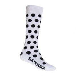 Ponožky Sensor Thermosnow Dots bílá Velikost ponožek: 43-46 / Barva: bílá