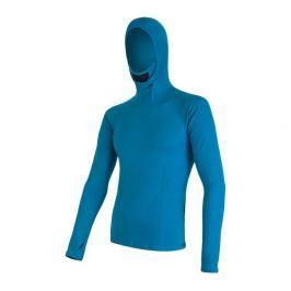 Pánské funkční triko Sensor Merino DF s kapucí Velikost: XL / Barva: modrá