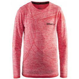 Dětské triko Craft Active Comfort LS Dětská velikost: 134 / Barva: oranžová