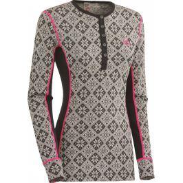 Dámské vlněné triko Kari Traa Rose LS Velikost: S / Barva: šedá
