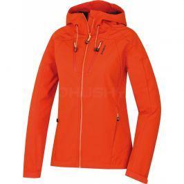 Dámská softshellová bunda Husky Summy L Velikost: L / Barva: oranžová