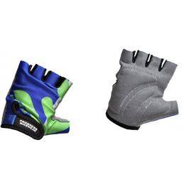 Dětské cyklistické rukavice Progress Kids Mitts 26RX Velikost rukavic: XXS / Barva: modrá/zelená