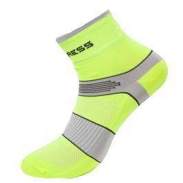 Ponožky Progress CYC 8CE Cycling Velikost ponožek: 35-38 (3-5) / Barva: žlutá