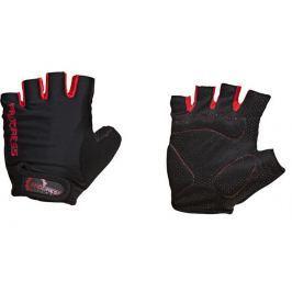 Cyklistické rukavice Progress Simple Mitts 37AA Velikost: XL / Barva: šedá/červená