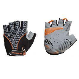 Cyklistické rukavice Progress Pull Mitts 37CA Velikost: XS / Barva: černá/oranžová