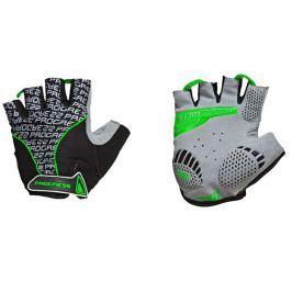 Cyklistické rukavice Progress Pull Mitts 37CA Velikost: XL / Barva: černá/zelená