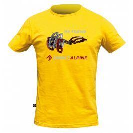 Pánské triko Direct Alpine Bosco 1.0 - Friend DA Velikost: S / Barva: žlutá