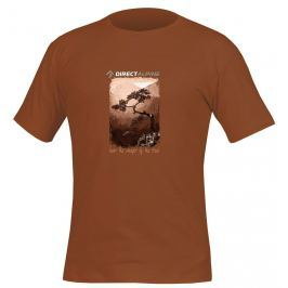 Pánské triko Direct Alpine Organic 1.0 Cinnamon Velikost: XXL / Barva: hnědá