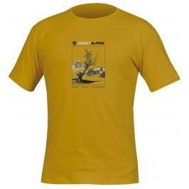 Pánské triko Direct Alpine Organic 1.0 Mustard Velikost: M / Barva: mustard