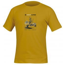 Pánské triko Direct Alpine Organic 1.0 Mustard Velikost: XL / Barva: mustard