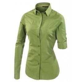 Dámská košile Ferrino Perinet Long Sleeve Woman Velikost: M / Barva: zelená