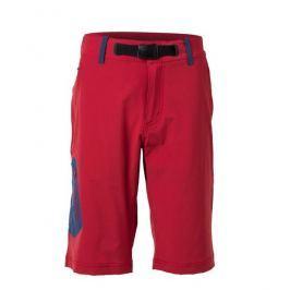 Pánské kraťasy Northfinder Yusuf Velikost: XL / Barva: červená