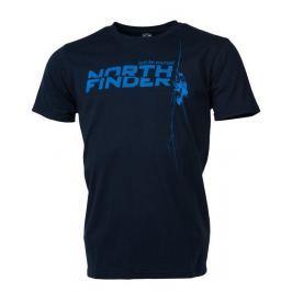 Pánské triko Northfinder Damari Velikost: L / Barva: tmavě modrá