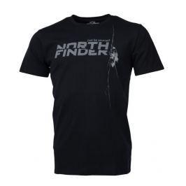 Pánské triko Northfinder Damari Velikost: XXL / Barva: černá