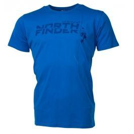 Pánské triko Northfinder Damari Velikost: XXL / Barva: modrá