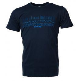 Pánské triko Northfinder Jeffrey Velikost: XL / Barva: modrá