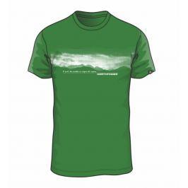 Pánské triko Northfinder Jaeden Velikost: M / Barva: zelená