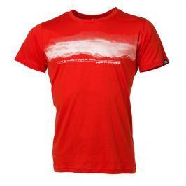 Pánské triko Northfinder Jaeden Velikost: XXL / Barva: červená