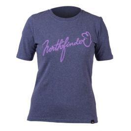Dámské triko Northfinder Talia Velikost: L / Barva: fialová