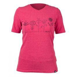 Dámské triko Northfinder Teresa Velikost: M / Barva: růžová