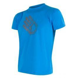 Pánské triko Sensor Coolmax Fresh PT Hand Velikost: M / Barva: modrá
