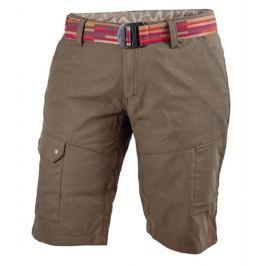 Dámské šortky Warmpeace Lapina Lady Velikost: S / Barva: hnědá