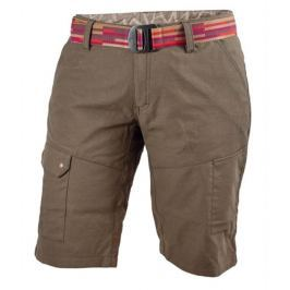 Dámské šortky Warmpeace Lapina Lady Velikost: XL / Barva: hnědá