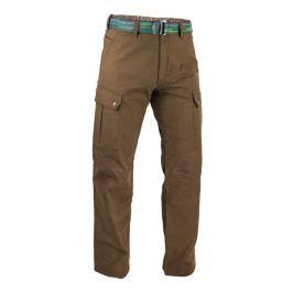 Pánské kalhoty Warmpeace Galt Velikost: L / Barva: hnědá