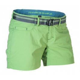 Dámské šortky Warmpeace Mira Lady Velikost: L / Barva: zelená