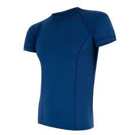 Pánské funkční triko Sensor Merino Air kr.rukáv Velikost: L / Barva: modrá