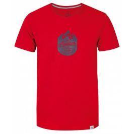 Pánské triko Loap Bessip Velikost: S / Barva: červená
