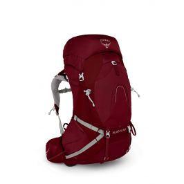 Dámský batoh Osprey Aura AG 50 Velikost zad batohu: M / Barva: červená