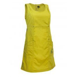 Šaty Warmpeace Sunday Best Velikost: M / Barva: žlutá