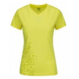 Dámské funkční triko Loap Mesu Velikost: XS / Barva: žlutá