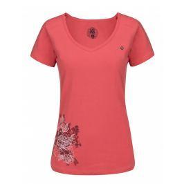Dámské triko Loap Abigale Velikost: M / Barva: růžová