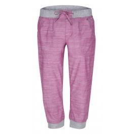 Dámské 3/4 kalhoty Loap Nairine Velikost: S / Barva: růžová