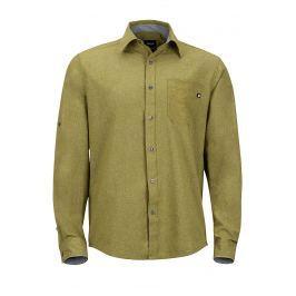 Pánská košile Marmot Windshear LS Velikost: M / Barva: zelená