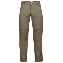 Pánské kalhoty Marmot Transcend Convertible Pant Velikost: 38 / Barva: hnědá