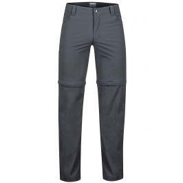 Pánské kalhoty Marmot Transcend Convertible Pant Velikost: 40 / Barva: šedá