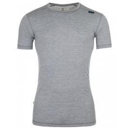 Pánské funkční triko Kilpi Merin M Velikost: M / Barva: šedá
