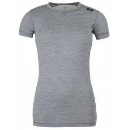 Dámské funkční triko Kilpi Merin W Velikost: M (38) / Barva: šedá