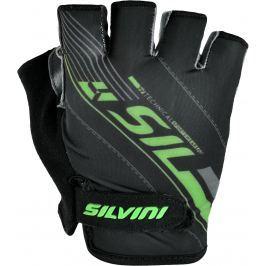 Pánské cyklo rukavice Silvini Ispiene MA1017 Velikost rukavic: L / Barva: černá/zelená