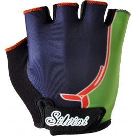 Silvini Dětské rukavice Silvni Punta CA848 Velikost rukavic: 7-8 / Barva: modrá/zelená