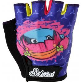 Silvini Dětské rukavice Silvni Punta CA848 Velikost rukavic: 7-8 / Barva: modrá