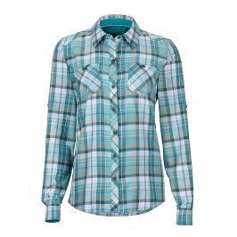 Dámská košile Marmot Wm's Lillian LS Velikost: XS / Barva: zelená