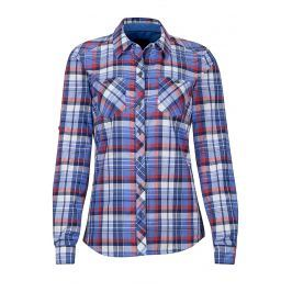 Dámská košile Marmot Wm's Lillian LS Velikost: S / Barva: modrá