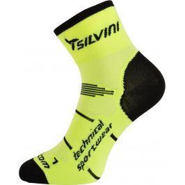 Cyklistické ponožky Silvini Orato UA445 Velikost ponožek: 36-38 / Barva: žlutá