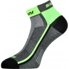 Cyklistické ponožky Silvini Plima UA622 Velikost ponožek: 42-44 / Barva: zelená/šedá