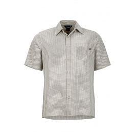 Pánská košile Marmot Eldridge SS Velikost: M / Barva: bílá